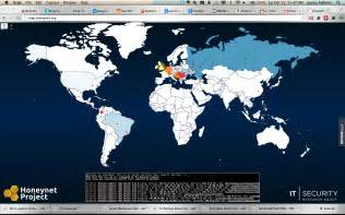 Cyber Attack Map