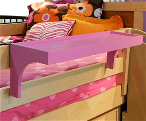 bunk bed shelf one world bunk bed shelf bedside tray bed accessories