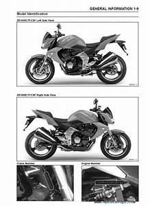 Kawasaki Z1000  Z1000 Abs Motorcycle Service Manual Pdf