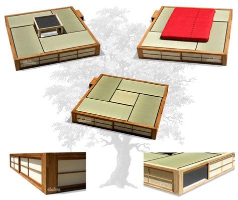 futon giapponese letto podio di cinius l unico contenitore salvaspazio in