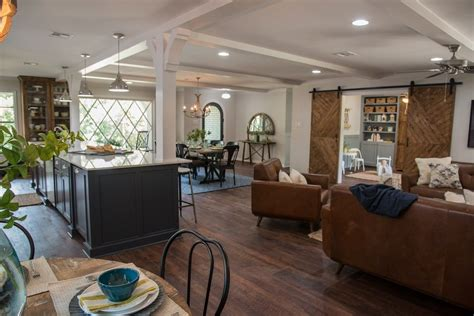 open concept kitchen dining  living room palette pro