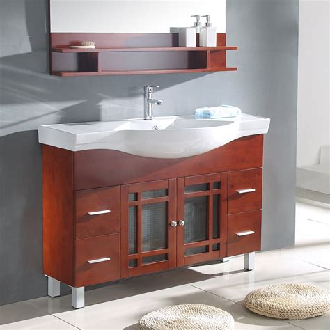Narrow Bathroom Vanities by How To Renovate A Narrow Depth Bathroom Vanity