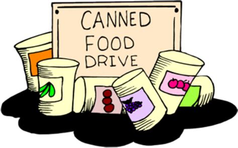 food drive clipart donate to a drive community board 14