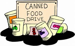 Canned Food Drive - ClipArt Best