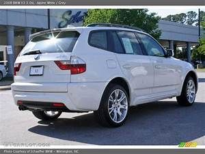 Bmw X3 2008 : 2008 bmw x3 in alpine white photo no 7756647 ~ Medecine-chirurgie-esthetiques.com Avis de Voitures