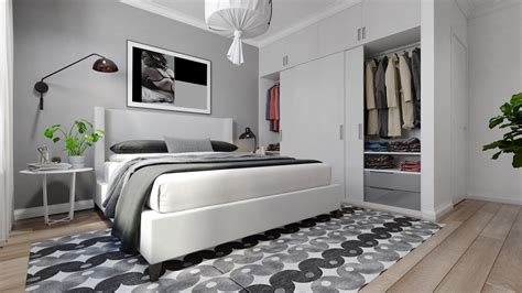 gray black and white bedroom grey and white interior design inspiration from scandinavia 6902