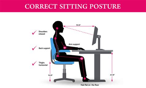 Correct Sittting Posture - Simple Tricks To Keep Your Back ...