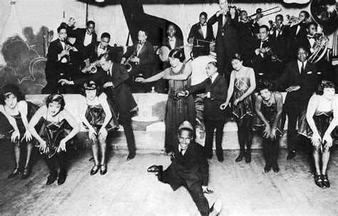 Black and White 1920s Jazz Club