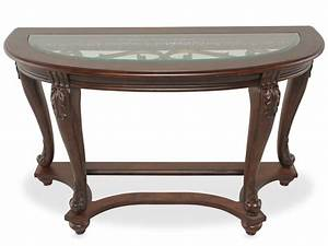 Sparta sofa table t499 4 occasional tables from ashley for Sectional sofa console table