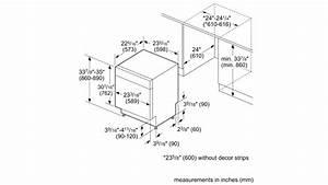 User Manual Bosch Shx84aaf5n 100 Series Dishwasher 24