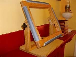 Rug Hooking Frame - by The Box Whisperer @ LumberJocks com