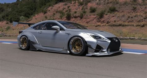 rocket bunny the rocket bunny lexus rc body kit made its debut last