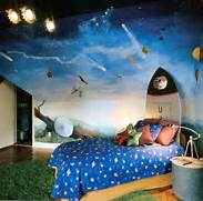 Kids Room Wallpaper Ideas Spacecraft Wallpaper By Thu Jul 23 2009 Kid Bedroom Designs By Margarita Kids Boys Bedroom Interior Design Ideas Kids Bedroom Furniture 50 Decorating Ideas And Image Gallery