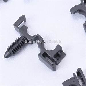Set Of 100 Pcs Wire Cable Loom Routing Retainer Wire Loom