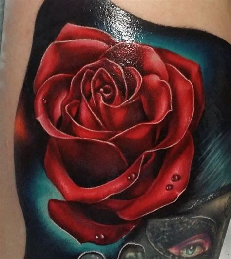 red rose tattoo inkstylemag