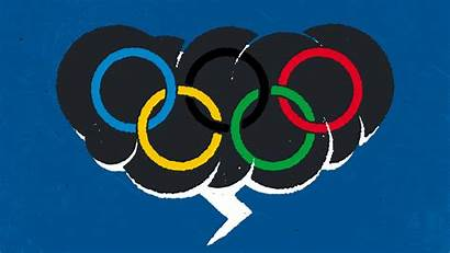 Olympics Olympic Rings Represent Bet Each Half