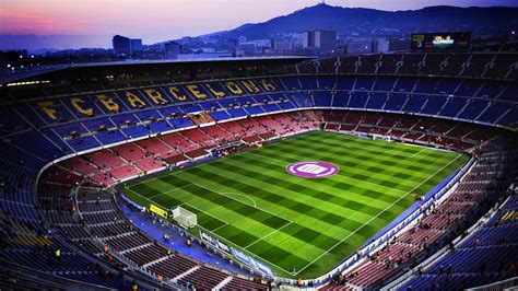 stadium camp nou barcelona spain dream wallpapers