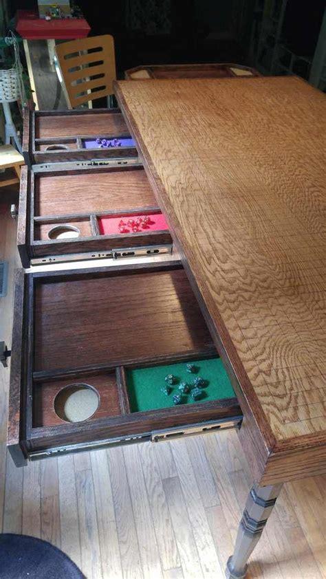 handmade dd table   gaming table diy dnd table