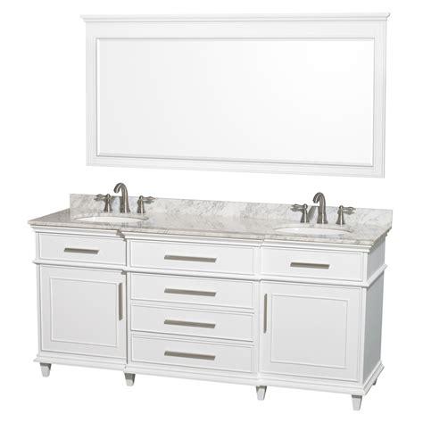 wyndham bathroom vanity shop wyndham collection berkeley white undermount