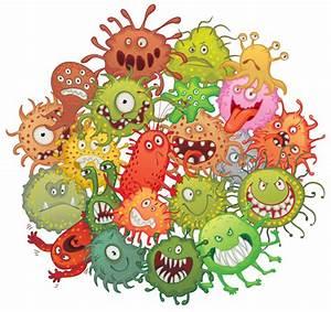 Funny bacteria cartoon styles vector 01 - Vector Cartoon ...