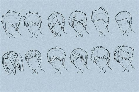 Come Disegnare I Capelli In Stile Anime E Manga » Vripmaster