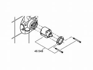 Grohe 33962 Manual Shower Valve Only Shower Spares And