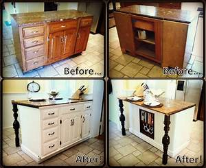 diy kitchen island renovation 1874