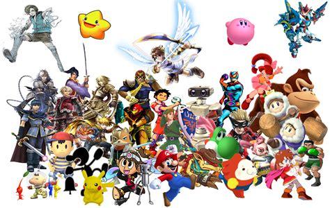 Nintendo Heroes Super Smash Bros Universe By