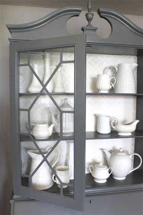 grey china cabinet china cabinet and buffet table set woodworking projects