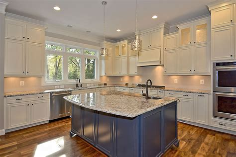 kitchens with different colored islands have fun with your kitchen how to choose a different color island ndi