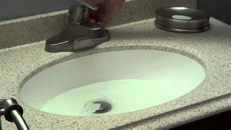 unclog bathroom sink bacterial drain cleaner youtube