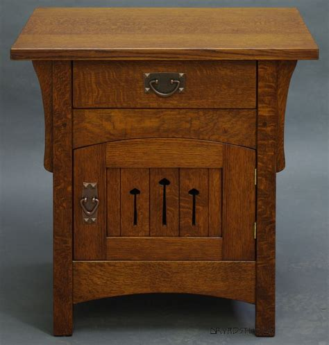 and crafts dresser free mission style nightstand plans woodworking projects