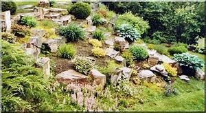 comment amenager rocaille With jardin en pente que faire 4 amenager un jardin de montagne avec une rocaille