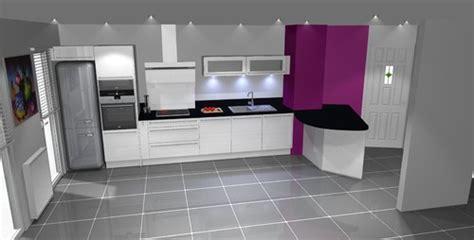 amenagement cuisine rectangulaire aménagement cuisine salon