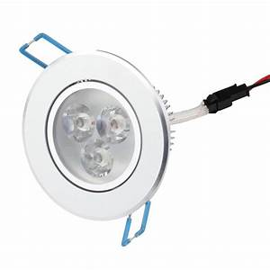 W led downlight ceiling recessed light down lamp lighting