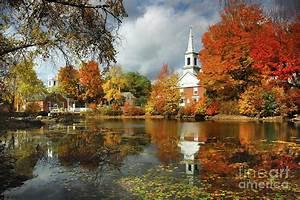 Harrisville New Hampshire - New England Fall Landscape