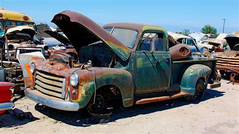 junkyard rescue saving   gmc truck roadkill ep