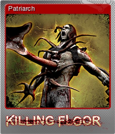 Killing Floor Wiki Patriarch by Killing Floor Patriarch Steam Trading Cards Wiki