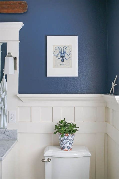 Bathroom Ideas Blue And White by Navy Blue And White Bathroom Home Decor White Bathroom