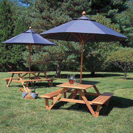 larchmont picnic table picnic table  umbrella