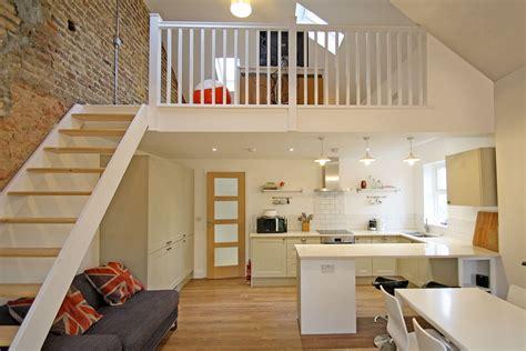 full flat refurbishment including mezzanine floor kitchen