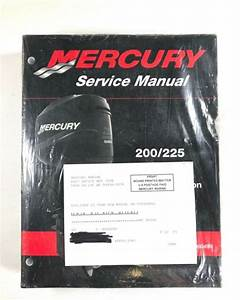 Mercury 200 225 Hp Optimax Direct Fuel Injection Service