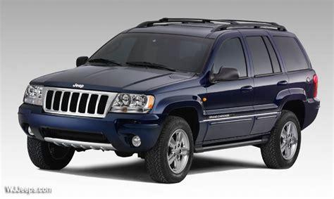Jeep Grand Cherokee Wg  2004 Overland Black Pearl Series