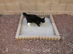 cat outside litter box tutorial outdoor cat litter box the chilly