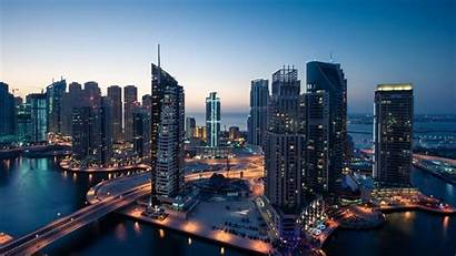 Dubai Middle East Wallpapers Buildings Eastern Marina