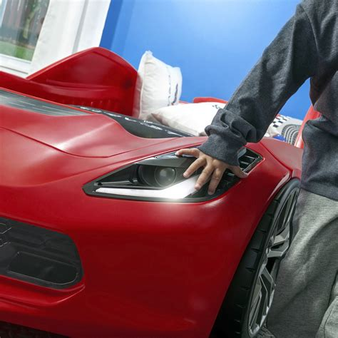 step2 corvette bed corvette z06 toddler to bed beds step2