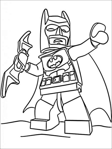 Batman 3 Kleurplaat kleurplaten lego batman 4