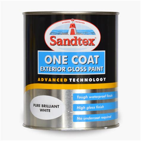 Sandtex® One Coat Exterior Gloss Paint