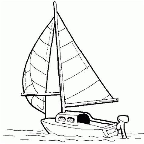 Dessin Bateau Mer by Dessin De Voilier Sur La Mer Coloriages De V 233 Hicules 224