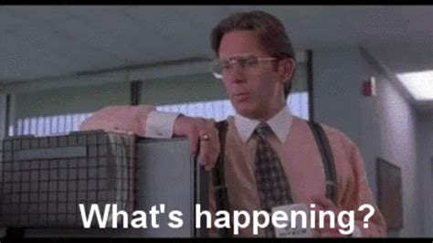 Office Space Just A Moment Gif by 10 Reasons Daylight Saving Time Is The Worst E News